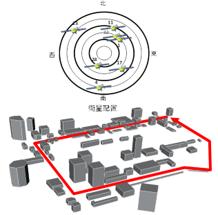 GPS-Studio事例:都市部を走行した車両に沿った分析と測位の高精度化への応用